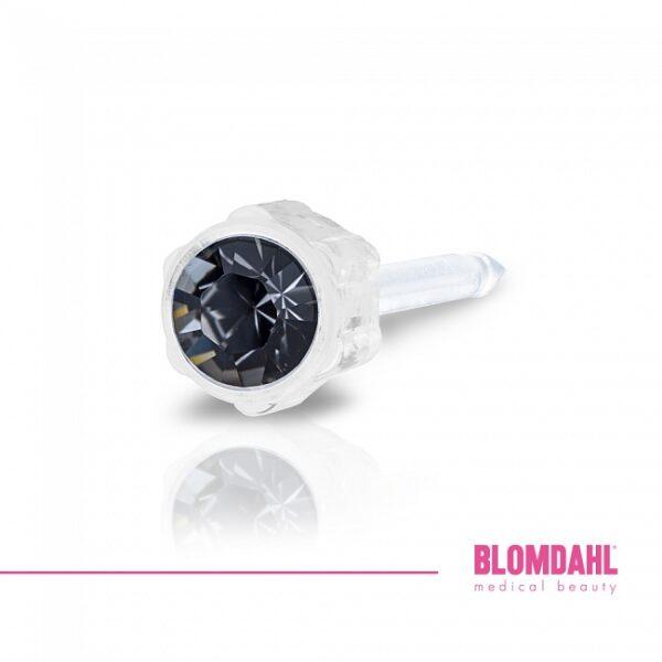 Blomdahl Kolczyk Medical Black Diamond