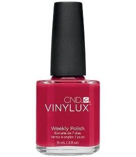 CND Vinylux lakier ROUGE RED 143