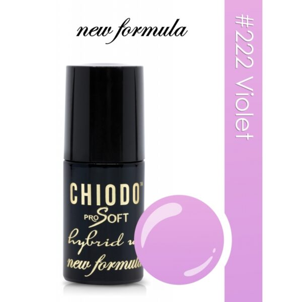 Chiodo Pro Soft Lakier hybrydowy 6ml 222
