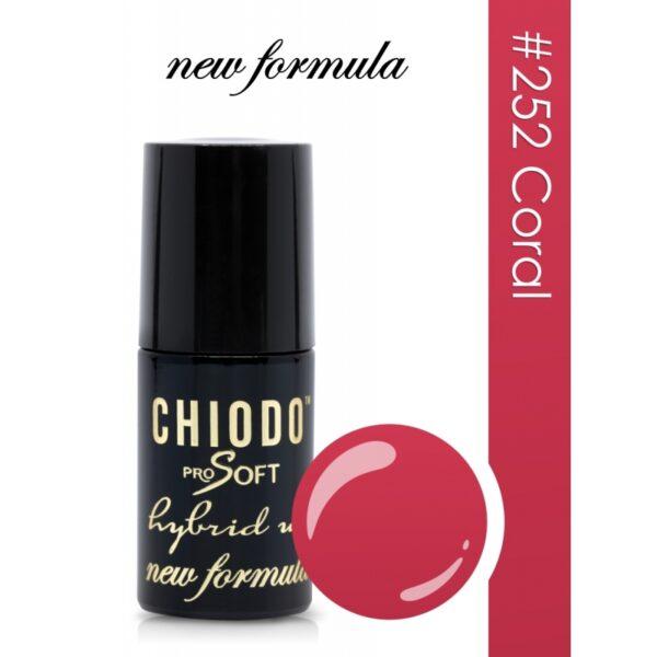 Chiodo Pro Soft Lakier hybrydowy 6ml 252