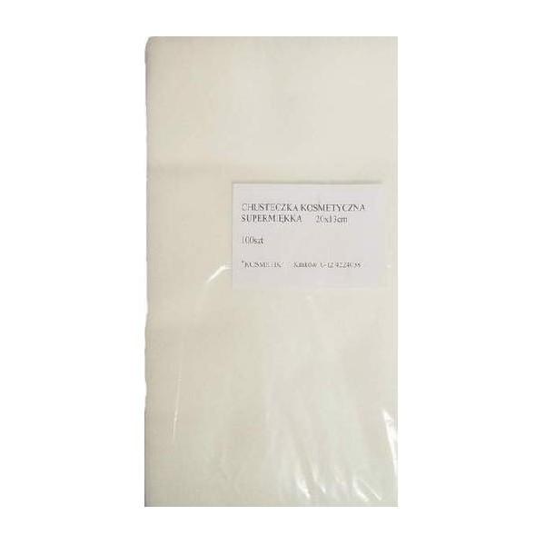 Chusteczki kosmetyczne supermiękkie 20/13 A'100
