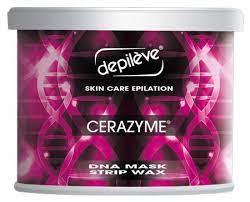 Depileve CERAZYME DNA Mask Strip Wax 400g