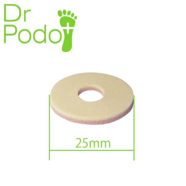 DrPodo Gotowe odciążenia filcu – okrągłe małe