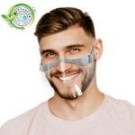 FACE SHIELD Półprzyłbica na usta i nos- 1 szt