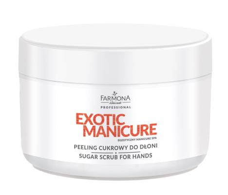 Farmona Exotic Manicure Peeling cukrowy 300g