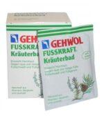Gehwol FUSSKRAFT Sól ziołowa do kąpieli stóp 10×20