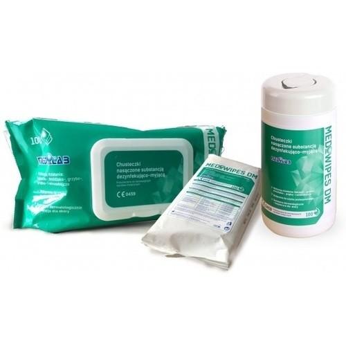 MEDIWIPES 100szt.Chusteczki dezynf-myjące FLOW PAC