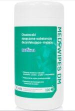 MEDIWIPES DM Chusteczki dezynfe-myjące 100szt tuba