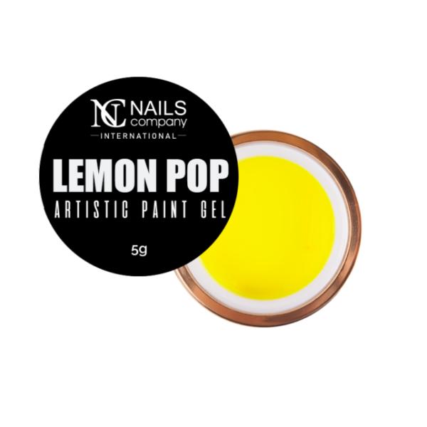 Nails Company Artistic Paint Gel- Lemon 5 g