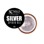 Nails Company Spider Gel Silver 5g