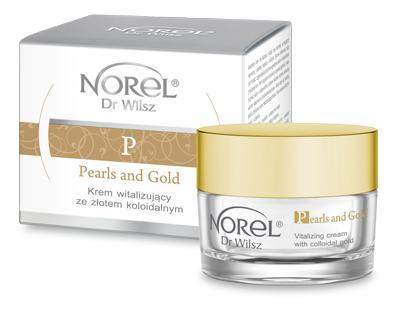 Norel Pearls&Gold Krem witalizujący 50ml D