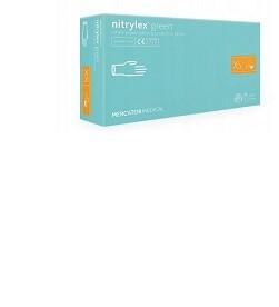 Rękawice nitrylowe bezpudrowe NITRYLEX GREEN XS