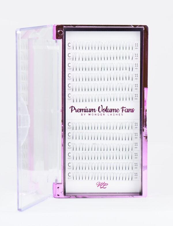 Wonder Lashes Premium Volume Fans 6D C0,07 MIX