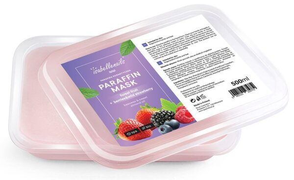 Isabellenails Parafina Kosmetyczna Owoce leśne 500
