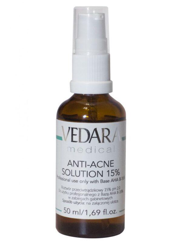 Vedara Roztwór przeciwtrądzikowy 15% pH 2,0 50ml